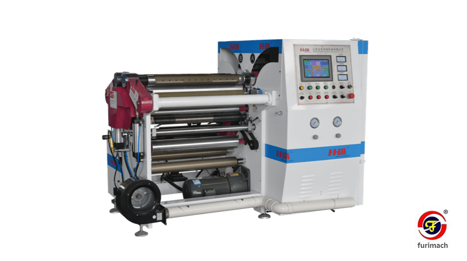 SLT-650 Center Drum Film Slitting Rewinding Machine