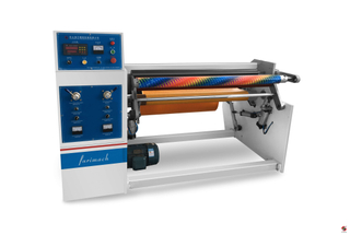 RES-S Single Shaft Tape Rewinding Machine