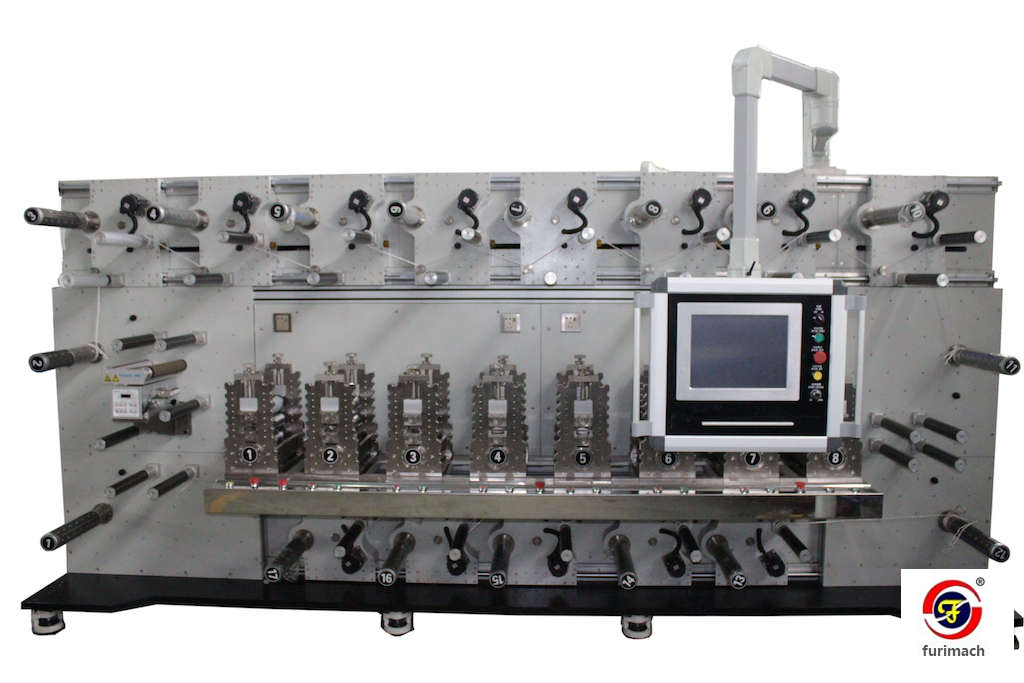 DCR-0816S Eight-station Rotary Die Cutting Machine