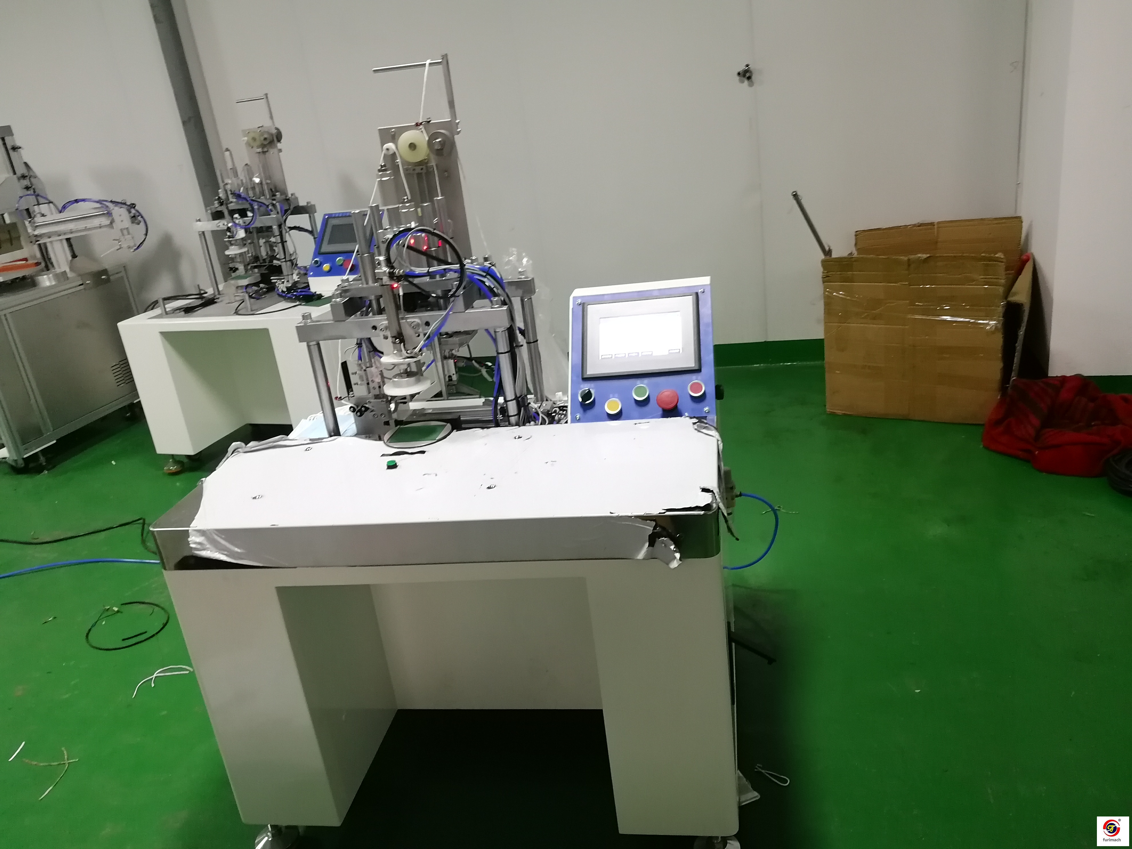 EDH-01A Semi Auto Ear Loop Welding Machine for Disposable Face Mask Production