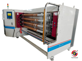 FCE 8 Shafts Baloney Slitter Machine for Adhesive Tapes